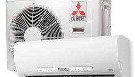 pris på mitsubishi luft vatten värmepump